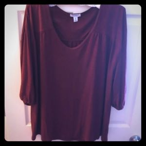 Old Navy Wine Colored Top